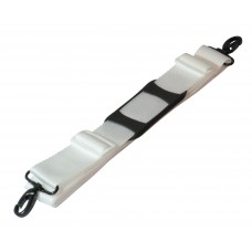 50mm Bag Strap with Metal Buckles and Shoulder Pad, 175cm