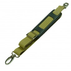 20mm Bag Strap with Metal Buckles and Shoulder Pad, 1 Metre