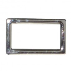 "25mm (1"") Alloy Metal Square Ring"