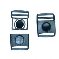 "20mm (3/4"") Front Button Release Buckle"