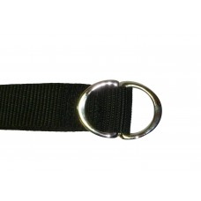 25mm Webbing Strap with Two Alloy Rings (Pair)