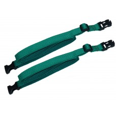 20mm Webbing Strap with Quick-Release Buckle and Length-Adjusting Triglide Buckles (pair)